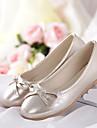 Fete Pantofi Flați Confortabili PU Primăvară Vară Casual Confortabili Toc Plat Auriu Argintiu Roz 2.5 - 4.5 cm