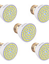 7W GU10 GU5.3(MR16) E26/E27 Spot LED 72 SMD 2835 600-700 lm Blanc Chaud Blanc Froid Blanc Naturel Decorative V 5 pieces
