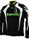 Motocicleta respiră curea bumbac flanchard motocicletă jacheta jacheta masina de curse au protecție de culoare neagră&alb
