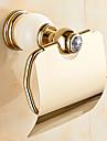 Suport Hârtie Toaletă / VerdeAlamă /Conteporan