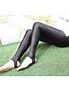 Dame Solid Polyester,Subțire Culori Mate Legging Acest Stil este în CONCORDANȚĂ cu MĂRIMEA.