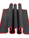 negru mare margine roșu mouse pad solid