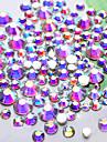 Cristal ab nail art rhinestones1440pcs / lot ss4 dmc glitter top quality flatback non hotfix diy garment ongle decoration outil