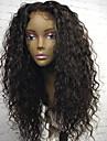 Nouveau style en soie top dentelle avant perruques de cheveux humains avec cheveux bebe cheveux anthropiques de masse anthropique de 130%