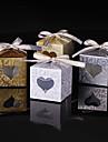25 Piesă/Set Favor Holder-Cubic Hârtie cărți de masă Cutii de Savoare Nepersonalizat
