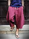 Bărbați Larg Șic & Modern Talie Medie,Inelastic Pantaloni Chinos Pantaloni Mată