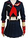Inspire par Cosplay Cosplay Manga Costumes de Cosplay Costumes Cosplay Couleur Pleine Manches Longues Pour Feminin