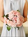 1 Gren Silke Roser Konstgjorda blommor