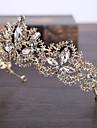 Aliaj de imitație perla netă cap-nunta ocazie specială în aer liber tiaras 1 bucată