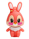 Hot new cartoon rabbit usb 2.0 128gb lecteur flash carte memoire