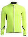 Jaggad Veste de Cyclisme Homme Manches longues Velo Maillot Veste Hauts/TopsGarder au chaud Pare-vent Doublure Polaire Vestimentaire