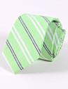 Bărbați Cu Dungi Toate Sezoanele Fulare Modă Bumbac Celofibră Poliester,Cravată