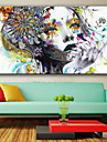 Impression d\'Art Personnage Moderne,Un Panneau Format Horizontal Imprime Decoration murale For Decoration d\'interieur