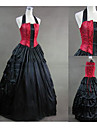 O piesă/Rochii Lolita Stil Gotic lolita Cosplay Rochii Lolita Vintage Beretă Fără manșon Lungime până la podea Rochie Pentru Alte