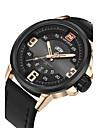 NAVIFORCE Bărbați Ceas Sport Ceas Militar Ceas La Modă Ceas de Mână Ceas Casual Japoneză Quartz Calendar Mare Dial PU BandăCool Casual