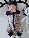 Bebelus O - piesă Modă Floral Peteci Bumbac Primăvară Toamnă Manșon Lung