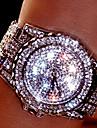 Pentru femei Pentru cupluri Ceas Elegant Ceas La Modă Ceas de Mână Ceas Brățară Unic Creative ceas Simulat Diamant Ceas QuartzȘtras Plin