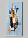Pictat manual Abstract Vertical,Abstract Modern Un Panou Canava Hang-pictate pictură în ulei For Pagina de decorare