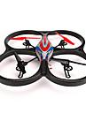 Dronă WL Toys V656 4CH 6 Axe Cameră FPV Iluminat LED Failsafe CamerăQuadcopter RC Telecomandă Cameră Foto 1 Baterie Dronă Manual
