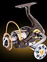 Reel Fishing Roulement Moulinet spinnerbaits 5.2:1 13 Roulements a billes EchangeablePeche en mer Peche sur glace Peche d\'eau douce Peche