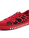 Bărbați Adidași Confortabili Pânză Primăvară Toamnă Confortabili Toc Plat Alb Rosu Albastru Plat