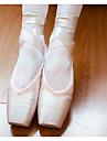 Dam Balett Spets Siden Platta Träning Rosa naken