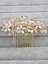 Cristal Ștras Diadema-Nuntă Piepteni de Păr 1 Bucată