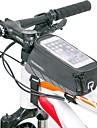 Cykelväska Väska till cykelramen Reflekterande Rand Bärbar Lättvikt Cykelväska Nylon Pyöräilylaukku Alla Mobiltelefon Cykling