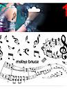 1 Tatouages Autocollants Serie message Non Toxique Motif Paillettes Bas du Dos Impermeable Noel Bebe Enfant Homme Femelle Femme Adulte