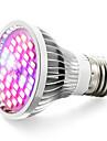 15W E27 LED Creșterea Plantelor 40 SMD 5730 800-1200 lm Alb Cald Albastru UV (Fosforescentă) Roșu V 1 bc
