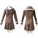 Inspirirana Visoka učilišta Haruhi Fujioka Anime Cosplay nošnje Cosplay Suits / School Uniforms Kolaž Smeđa Dugi rukavTop / Suknja /