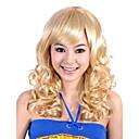 nadolijevanja dok najviše ocjene kvalitete sintetička plava kovrčava kosa vlasulja