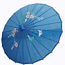 """Svila Obožavatelji i suncobrani Komad / set Suncobrani Vrt Tema Azijski Tema Plav19 """"visok x 32 1/3"""" u diamete (48cm visoka × 82cm u"""