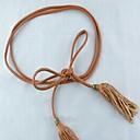 dámské vintage střapec řetězec široký pás