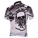KOOPLUS® Biciklistička majica Muškarci Kratki rukav Bicikl Prozračnost / Quick dry Biciklistička majica / Majice Polyester Lubanje