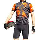 JAGGAD® サイクリングジャージー 男性用 半袖 バイク 高通気性 / 速乾性 ジャージー / トップス ポリエステル / クールマックス キャラクター 春 / 夏 サイクリング/バイク