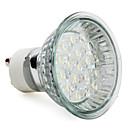 2W GU10 LED bodovky MR16 18 High Power LED 90 lm Teplá bílá AC 220-240 V