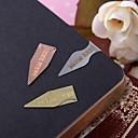 Visoka kvaliteta papira Praktični favorizira-3 Oznake i pismo otvarači Klasični Tema Srebro