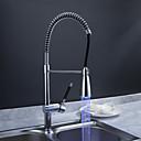 Sprinkle®キッチン用水栓  ,  過渡的  with  クロム シングルレバー 一つ  ,  特徴  for LEDタイプ / センターセットタイプ
