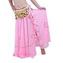 plesnana suknja za dame više boja, opšivenih rubova