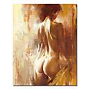 """handgeschilderde mensen olieverfschilderij met gestrekte frame 20 """"x 24"""""""