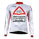 Kooplus Quick Dry Men's Long Sleeve Cycling Jersey (Cycling Inside)