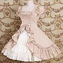 kratkih rukava koljeno duljine pamuk luk i mrsiti princeza lolita haljina