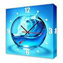 Moderni Fishbowl zidni sat u platnu
