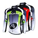 NUCKILY® Biciklistička majica Muškarci Dugi rukav Bicikl Ugrijati / Quick dry / Podstava od flisa / Ultraviolet ResistantBiciklistička