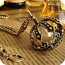 ženski biser krunu vintage startni ogrlicu