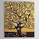 Ručně malované Abstraktní / Slavné / Lidé / Moderní umění Klasický / Moderní / Tradiční,Jeden panel Plátno Hang-malované olejomalba For