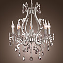 40 Lustry ,  Tradiční klasika Pochromovaný vlastnost for svíčka Style Kov Obývací pokoj Ložnice Jídelna
