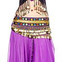 velluto dancewear con bordatura danza del ventre prestazioni per le signore colori più cintura