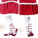 Ponožky a punčochy Sweet Lolita Lolita Lolita Červená / Bílá Lolita Příslušenství Punčocháče Tisk Pro Dámské Bavlna